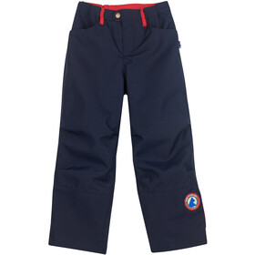 Finkid Tobi Husky Pantalones Outdoor Resistentes Niños, navy/red